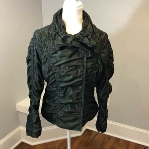 Katherine Barclays Green Button Jacket size Small